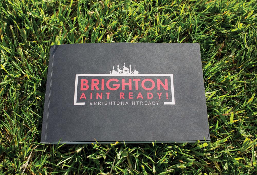 Brighton Ain't Ready X Endless Book / DVD